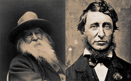 Walt Whitman and Henry Thoreau