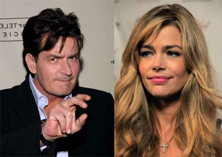 Charlie Sheen and Denise Richards underwent a deeply acrimoious split