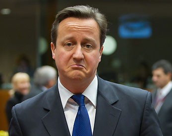 David Cameron: tough times ahead.